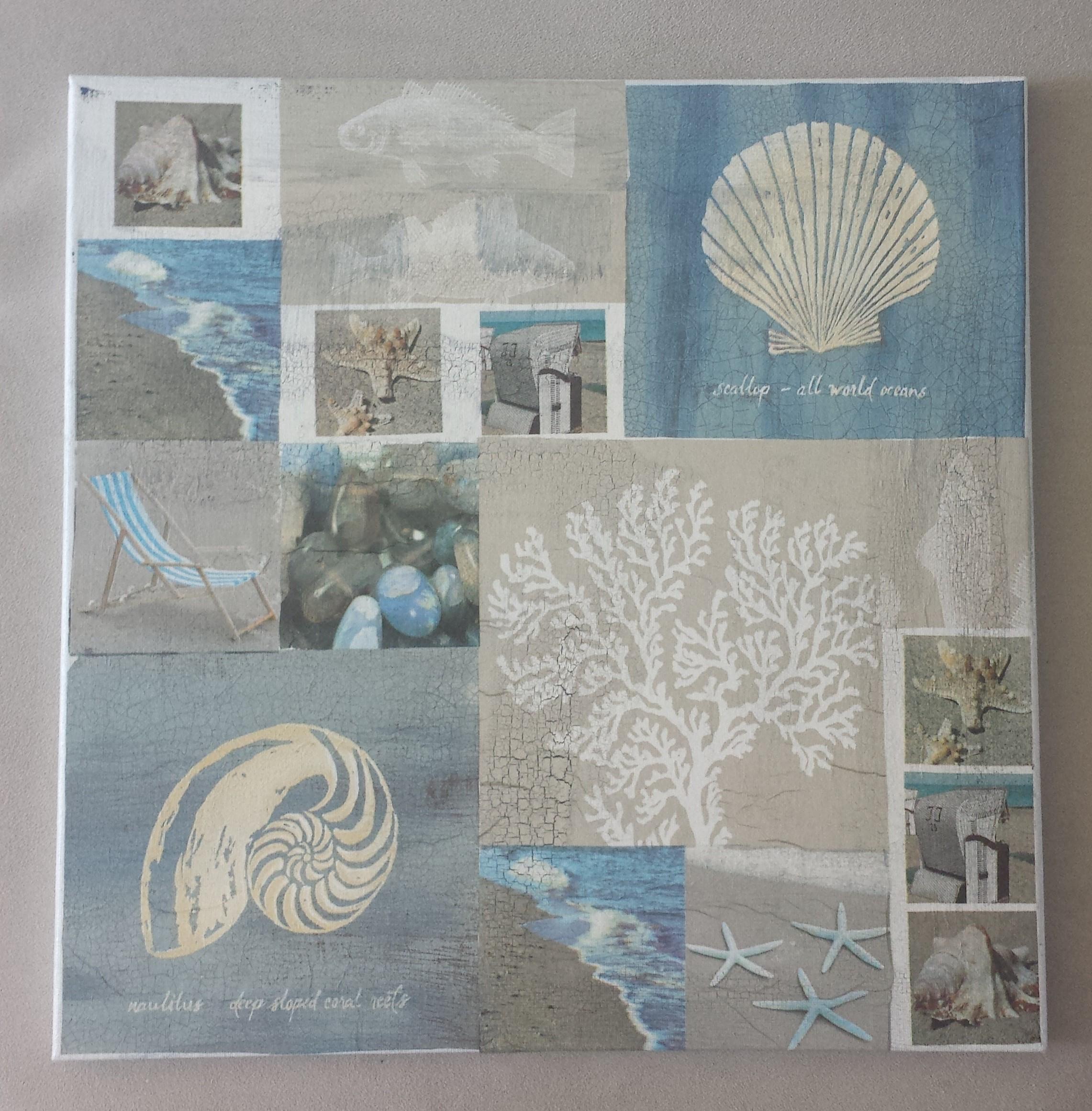Maritime Bilder 40 cm x 40 cm