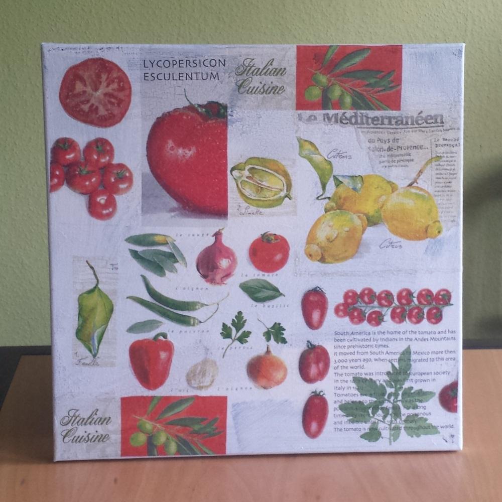 Küchenbilder 40 cm x 40 cm