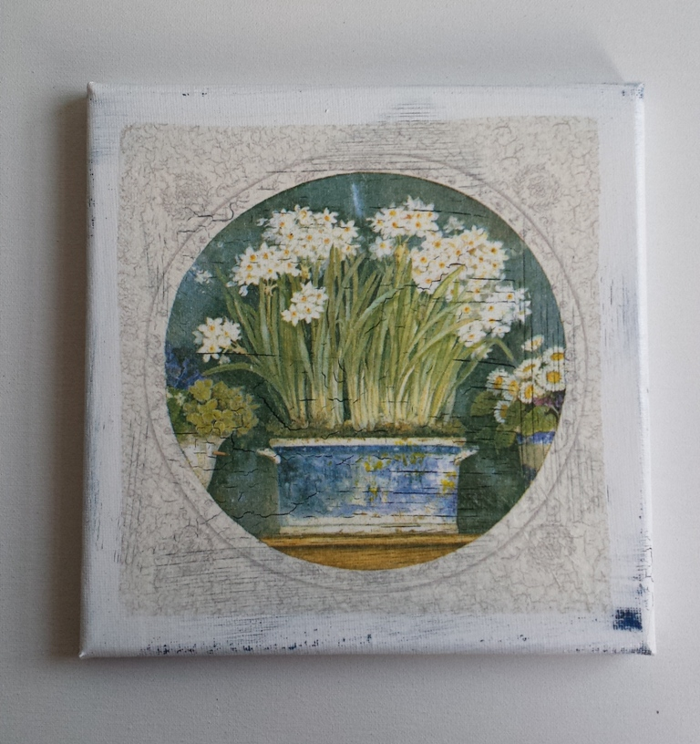 Florale Bilder 20 cm x 20 cm