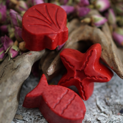 Gäste- und Kinderseife: Rosen-Seife