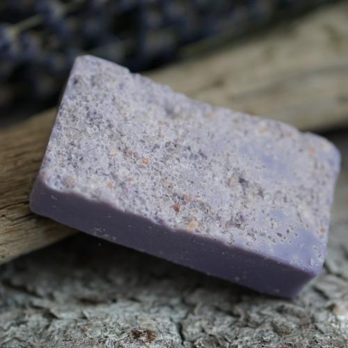 Salzseife: Lavendel-Seife