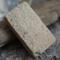 Salzseife: Honig-Vanille